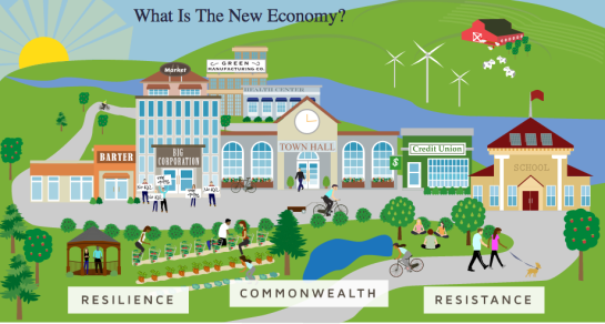 transition to a new economy